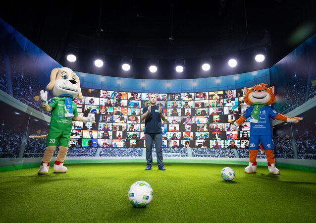"""Mezinárodní dětský sociální program Gazpromu """"Fotbal pro přátelství"""""""