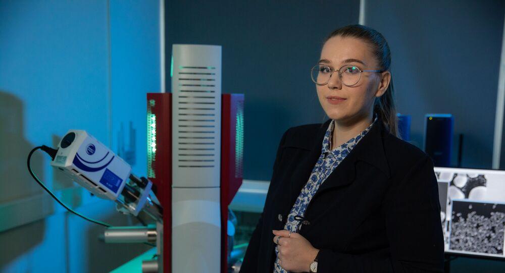 Aspirantka Inženýrského fyzikálního ústavu biomedicíny MEPhI Jekatěrina Achljustinová