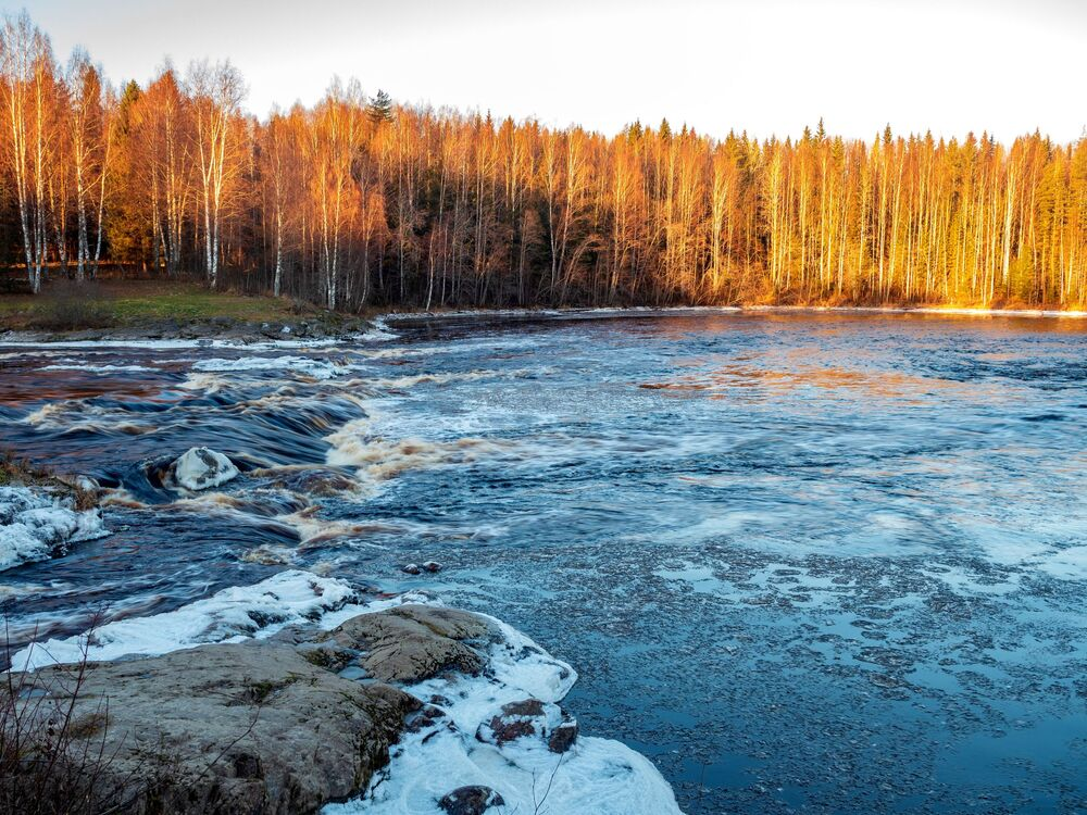 Kouzlo zimy v Karelské republice: Krása, která bere dech
