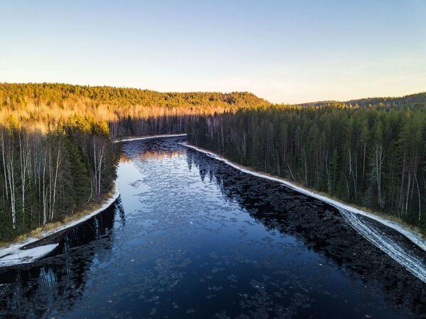 Kouzlo zimy v Karelské republice: Krása, která bere dech - Sputnik Česká republika