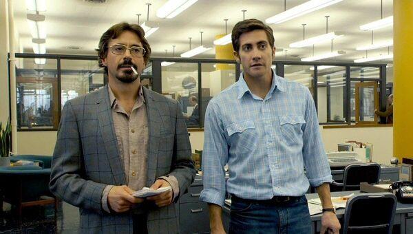 Herci Robert Downey Jr. a  Jake Gyllenhaal ve filmu Zodiac, 2007 - Sputnik Česká republika