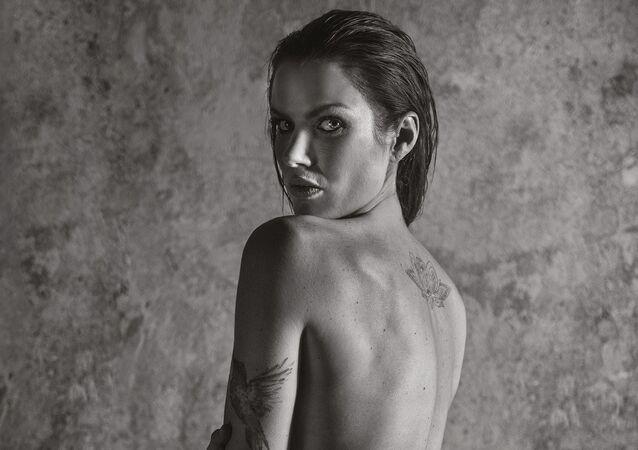 Gabriela Koukalová. Playboy