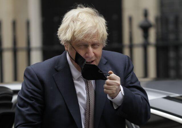 Předseda britské vlády Boris Johnson