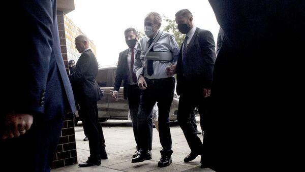 Český prezident Miloš Zeman ve volební místnosti v Praze první den senátních voleb  - Sputnik Česká republika