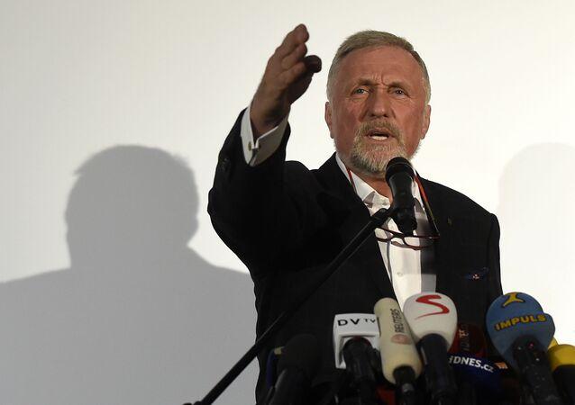 Bývalý český premiér Mirek Topolánek