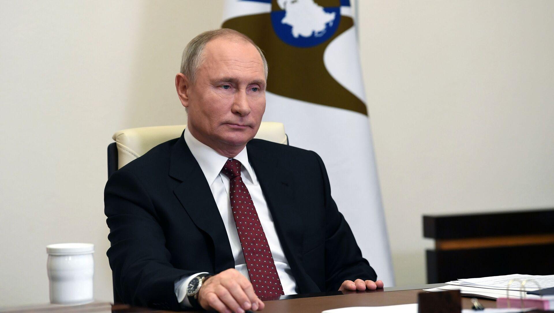 Ruský prezident Vladimir Putin - Sputnik Česká republika, 1920, 14.02.2021