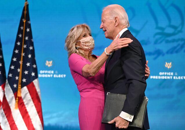 Joe Biden s manželkou