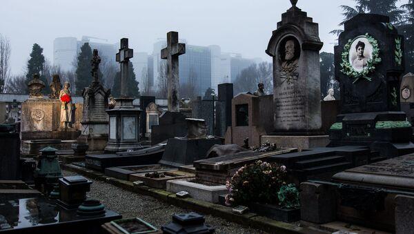 Monumentální hřbitov v Miláně - Sputnik Česká republika