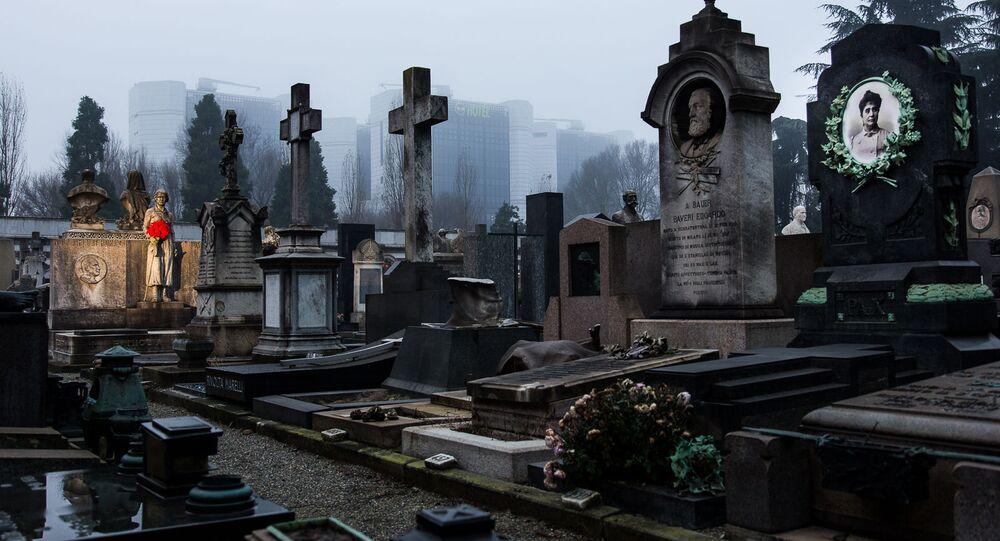 Monumentální hřbitov v Miláně