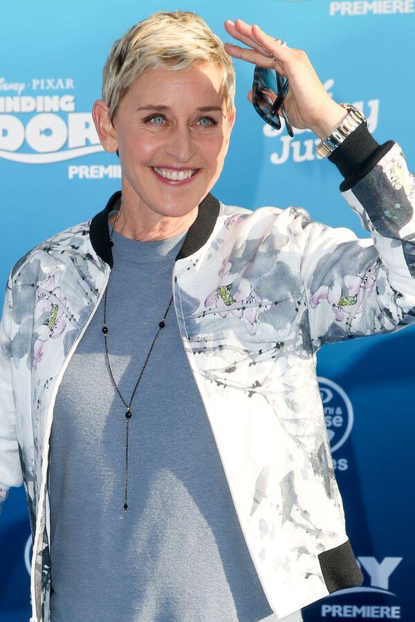 Americká moderátorka, komička a herečka Ellen DeGeneresová. - Sputnik Česká republika