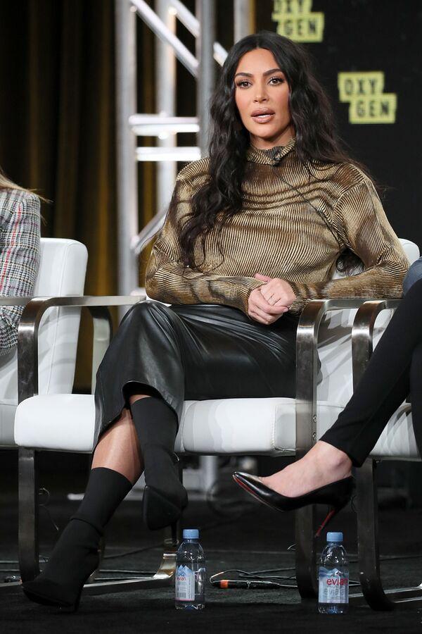 Americká televizní osobnost a modelka Kim Kardashianová. - Sputnik Česká republika