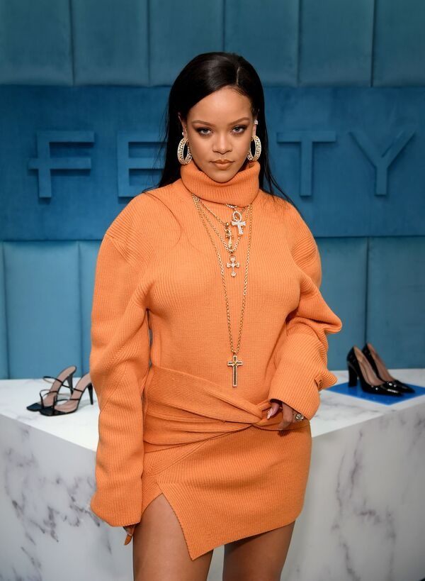 Barbadosko-americká zpěvačka a herečka Rihanna. - Sputnik Česká republika