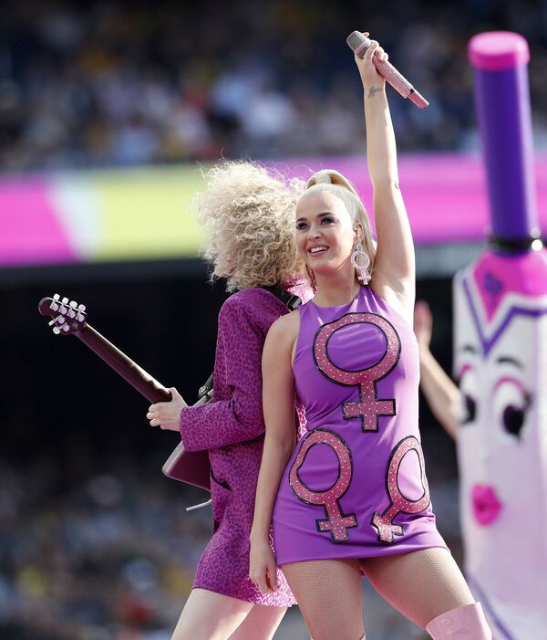 Americká zpěvačka, textařka a hudebnice Katy Perry. - Sputnik Česká republika