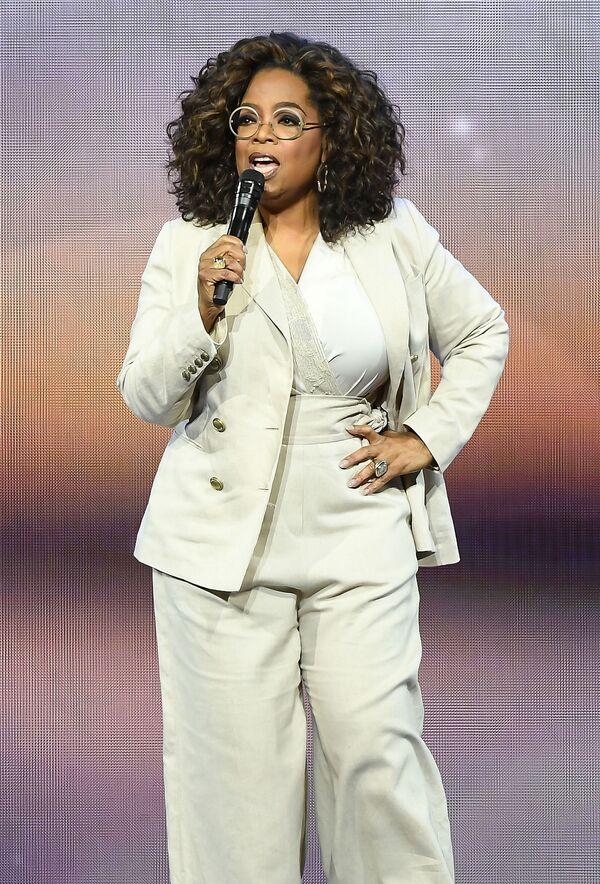 Americká moderátorka Oprah Winfreyová. - Sputnik Česká republika
