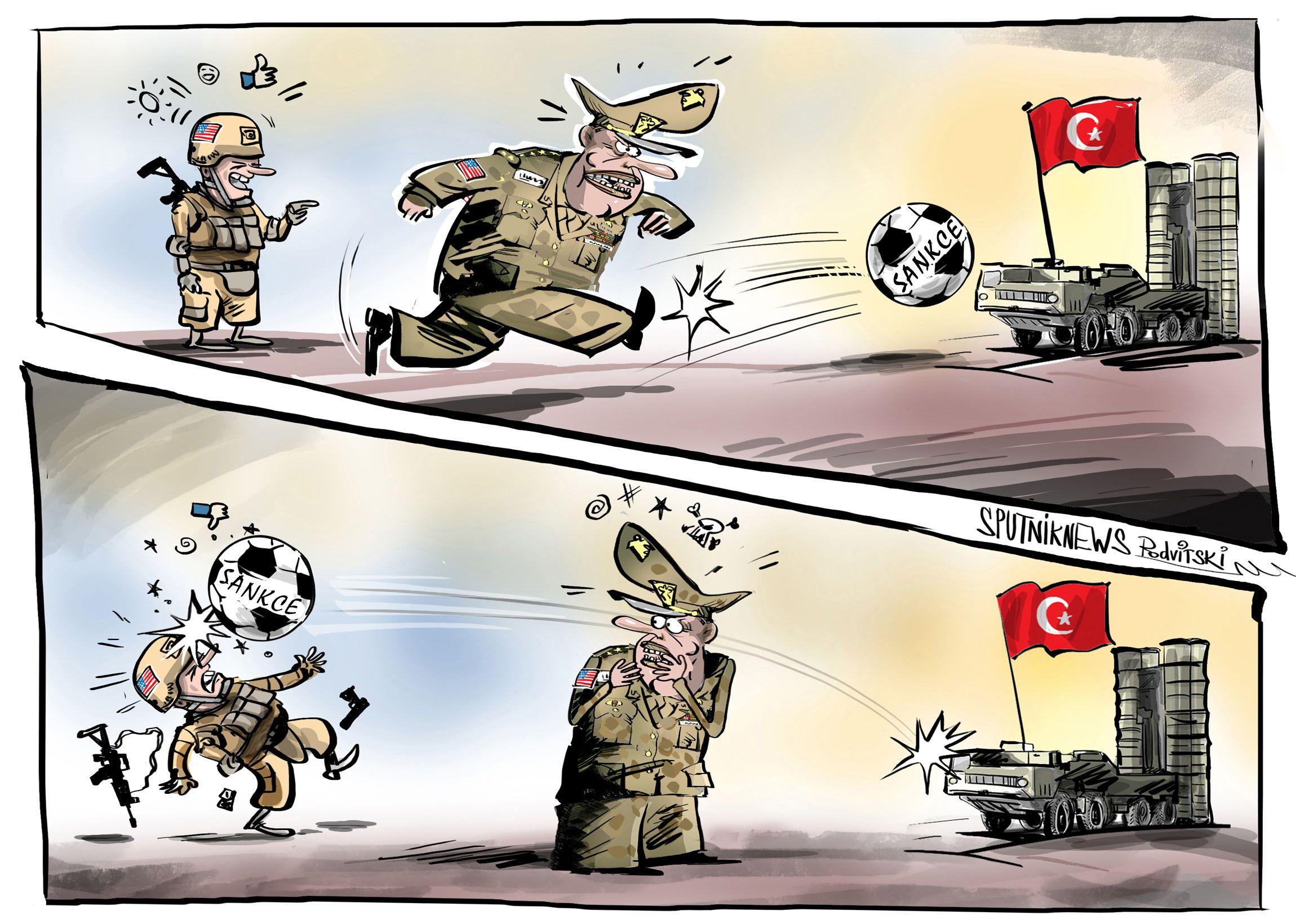 USA nepřestávají se snahami podřídit si Turecko