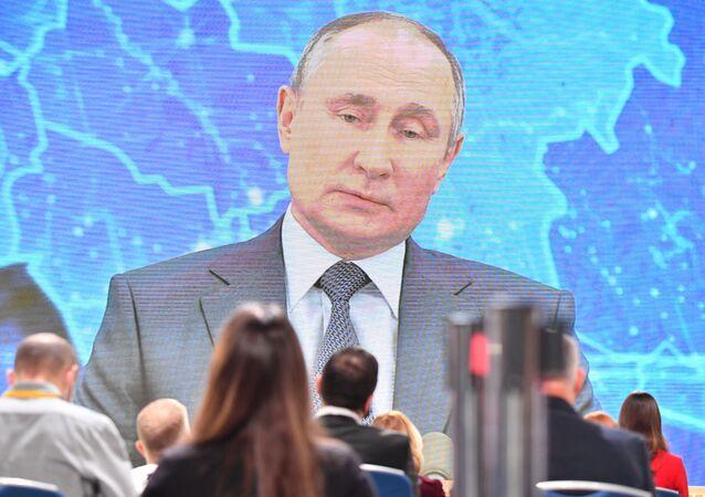 Velká tisková konference Vladimira Putina v novém formátu