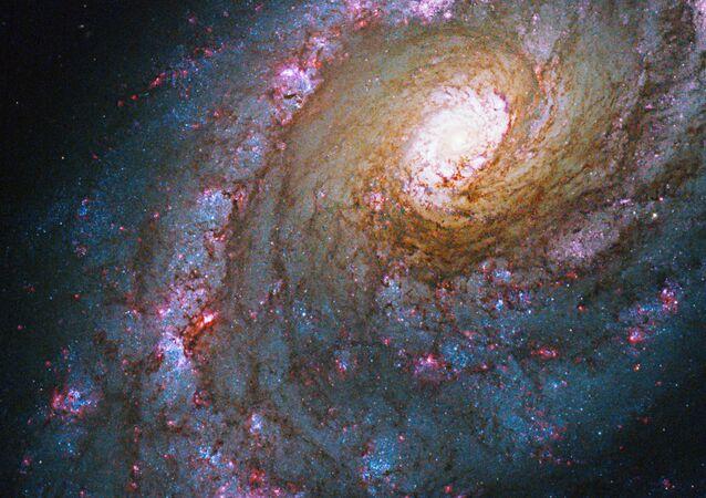 Galaxie NGC 5248 v souhvězdí Volopas