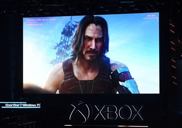 Herec Keanu Reeves anoncuje hru Cyberpunk 2077