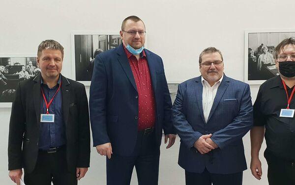 Zleva: Jakub Olbert, Lubomír Volný, Marian Bojko, Jiří Janeček - Sputnik Česká republika
