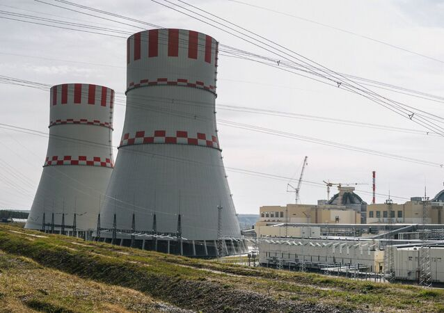 Jaderný blok Novovoroněžské jaderné elektrárny s reaktory VVER-1200 generece III+