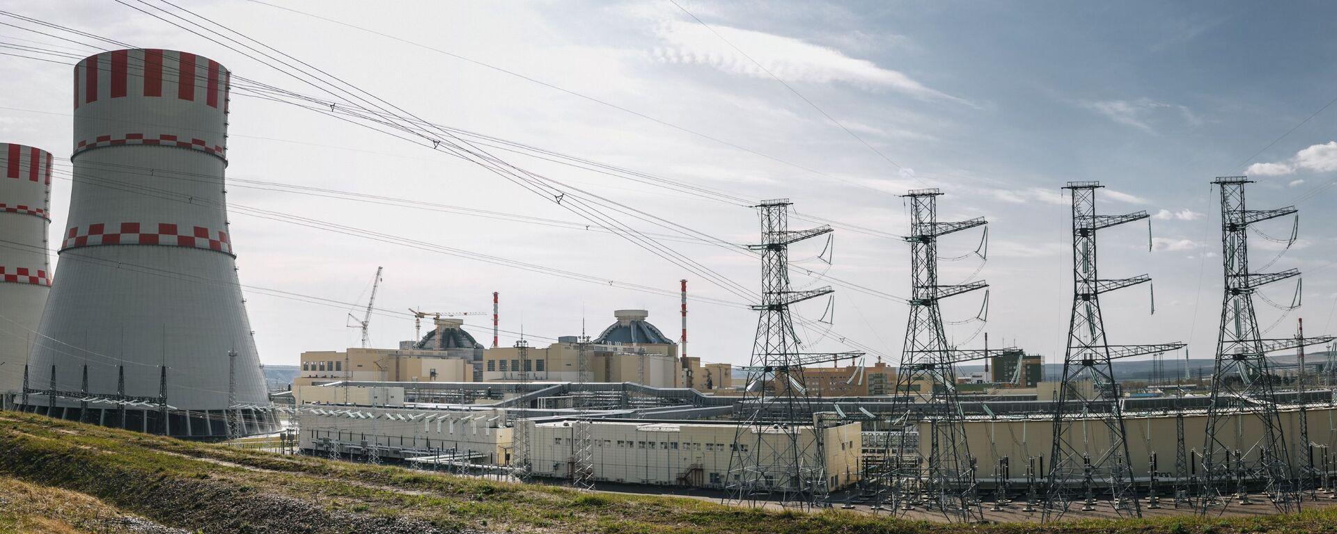 Jaderný blok Novovoroněžské jaderné elektrárny s reaktory VVER-1200 generece III+ - Sputnik Česká republika, 1920, 18.12.2020