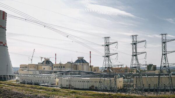 Jaderný blok Novovoroněžské jaderné elektrárny s reaktory VVER-1200 generece III+ - Sputnik Česká republika