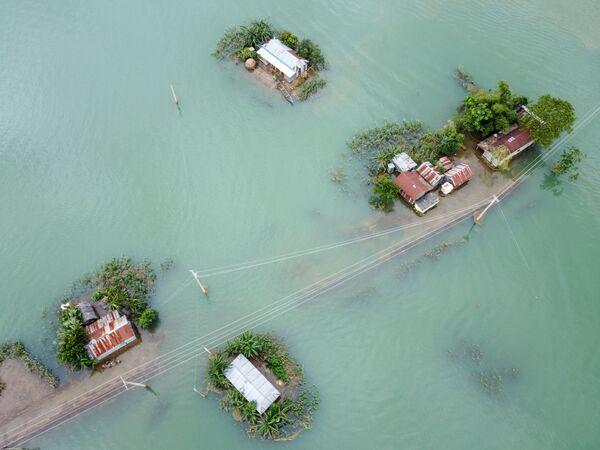 Následky monzunových dešťů v Sunamganj, Bangladéš - Sputnik Česká republika
