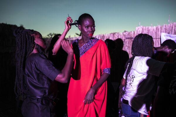 Týden mody Dakar Fashion Week v Senegalu - Sputnik Česká republika