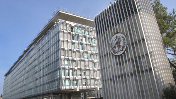 Budova Světové zdravotnické organizace - Sputnik Česká republika