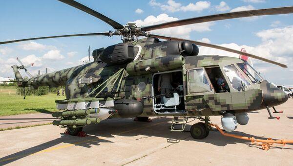 Nový ruský transportní bojový vrtulník Mi-8AMTŠ - Sputnik Česká republika