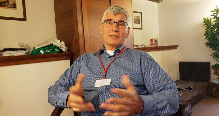 Epidemiolog Jiří Beran