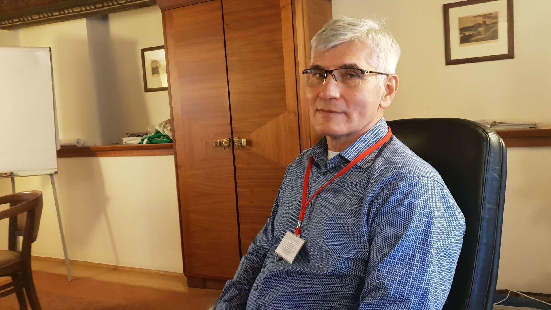 Epidemiolog Jiří Beran - Sputnik Česká republika, 1920, 25.07.2021