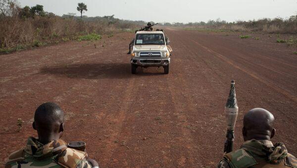 Vojáci ve Středoafrické republice - Sputnik Česká republika
