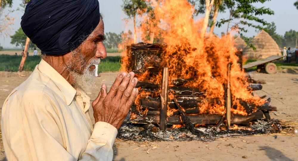 Kremace v Indii