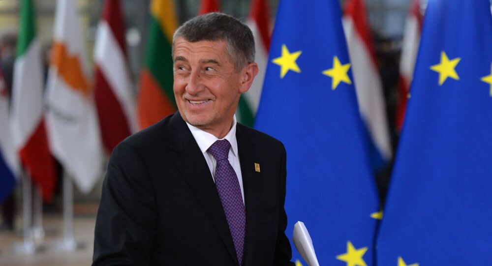 Summit EU v Bruselu. Andrej Babiš