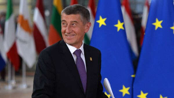 Summit EU v Bruselu. Andrej Babiš - Sputnik Česká republika