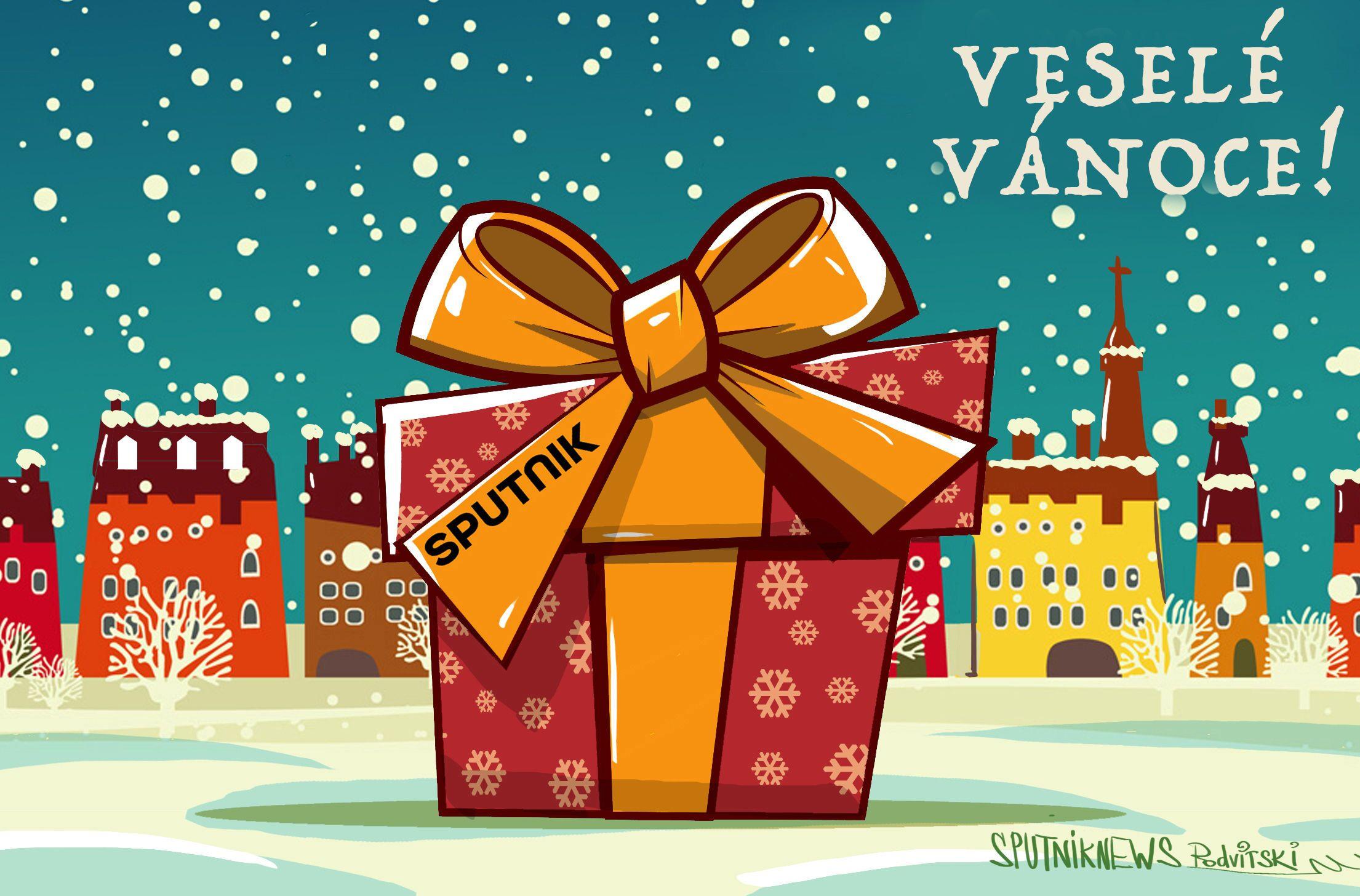 Sputnik Vám přeje šťastné a veselé Vánoce!