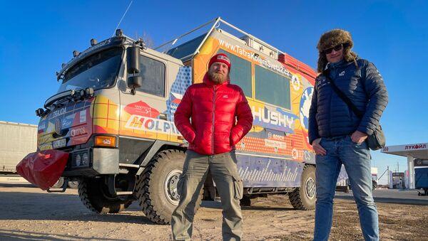 Expedice Tatra kolem světa 2 v Rusku - Sputnik Česká republika