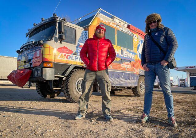 Expedice Tatra kolem světa 2 v Rusku