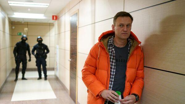 Ruský opozičník Alexej Navalnyj - Sputnik Česká republika