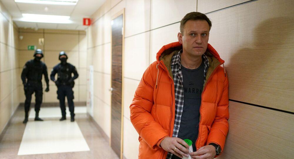 Ruský bloger Alexej Navalnyj