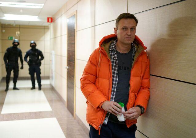 Ruský opozičník Alexej Navalnyj