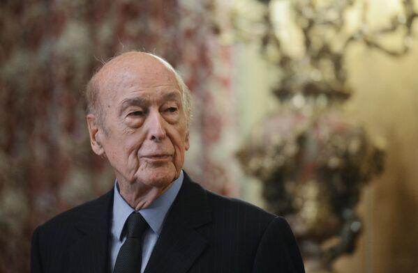 Dvacátý prezident Francouzské republiky Valéry Giscard d'Estaing - Sputnik Česká republika