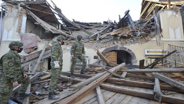 Zemětřesení v Chorvatsku - Sputnik Česká republika