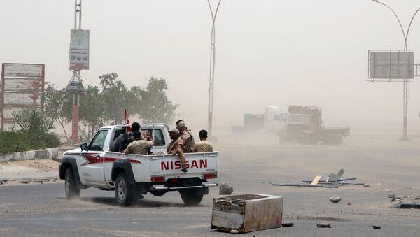 Situace v Adenu (ilustrační foto) - Sputnik Česká republika