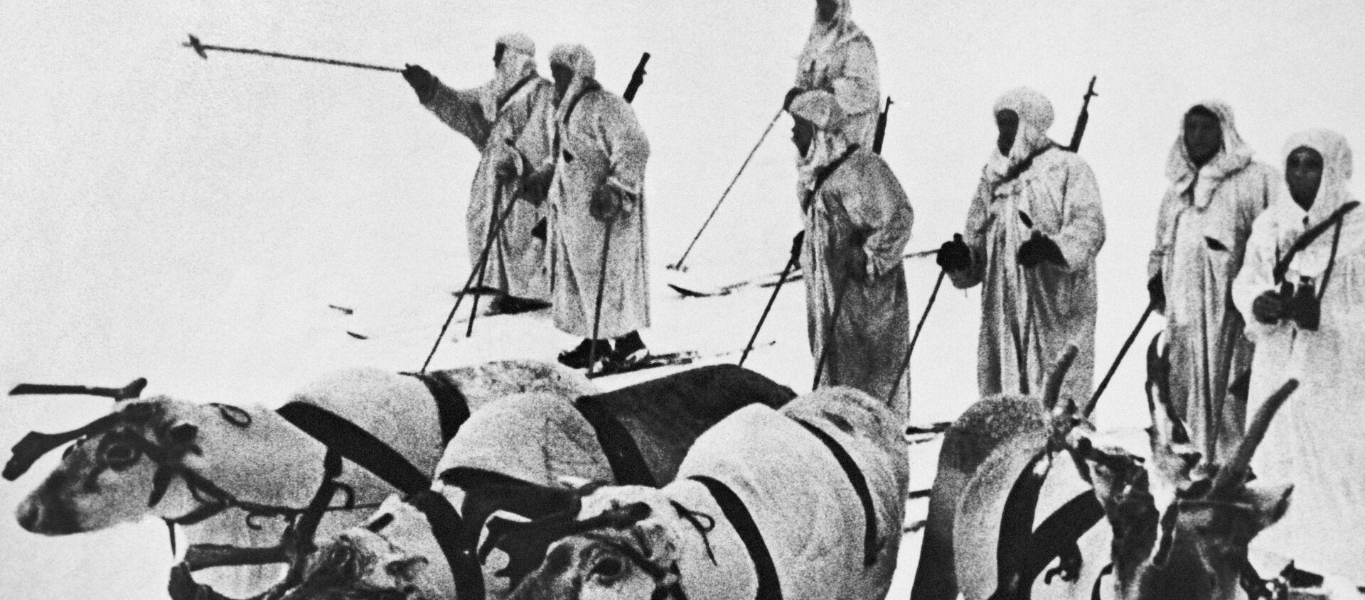 Sobí lyžařský batalion - Sputnik Česká republika, 1920, 31.12.2020