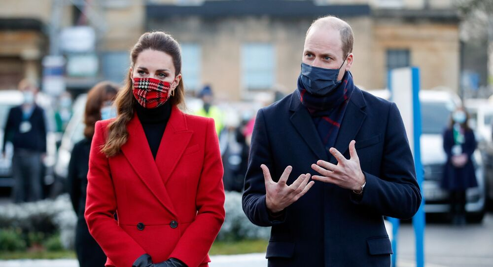 Kate Middletonová a princ William