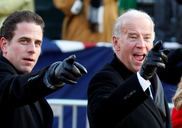 Joe Biden a jeho syn Hunter