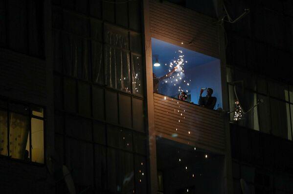 Oslavy příchodu nového roku v Jihoafrické republice. - Sputnik Česká republika