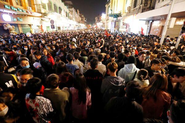 Oslavy nového roku ve Vietnamu. - Sputnik Česká republika